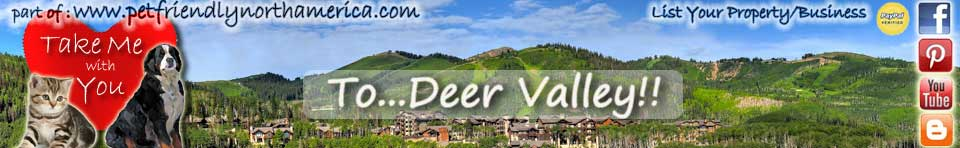 pet friendly deer valley utah